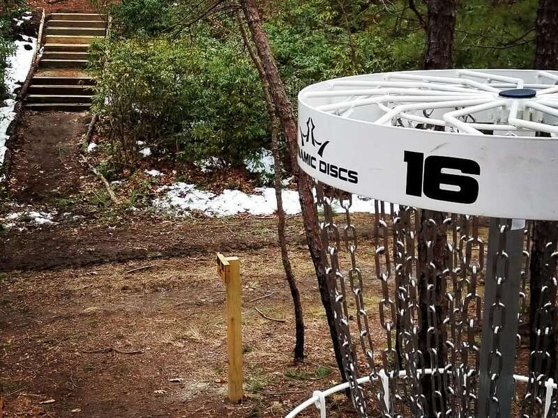 Allaire State Park Disc Golf Course